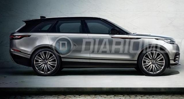 Range Rover Velar lộ diện thêm trước ngày ra mắt - Ảnh 1.