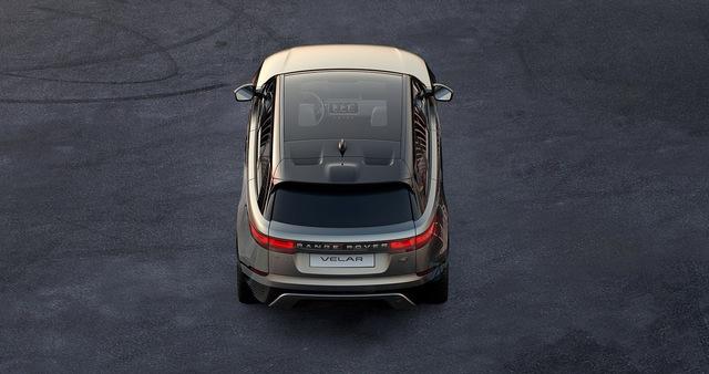 Range Rover Velar lộ diện thêm trước ngày ra mắt - Ảnh 4.