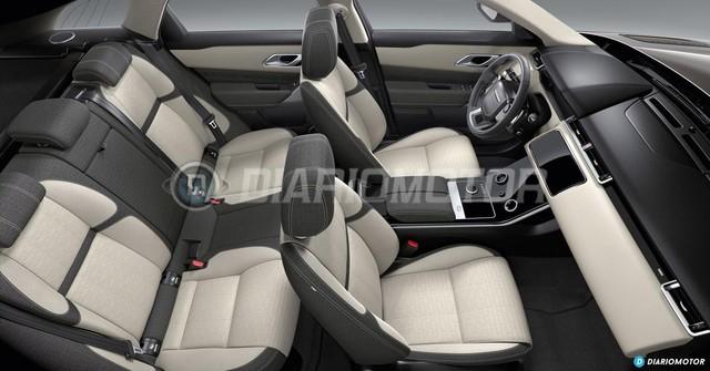 Range Rover Velar lộ diện thêm trước ngày ra mắt - Ảnh 7.