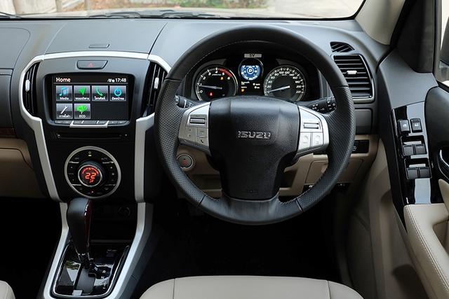 Cận cảnh SUV cỡ trung Isuzu MU-X 2017 bằng xương, bằng thịt - Ảnh 7.