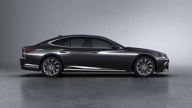 Sedan hạng sang cỡ lớn Lexus LS500h 2018 ra mắt - Ảnh 2.