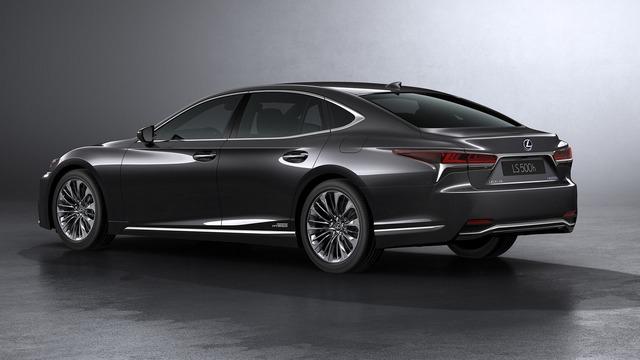 Sedan hạng sang cỡ lớn Lexus LS500h 2018 ra mắt - Ảnh 3.