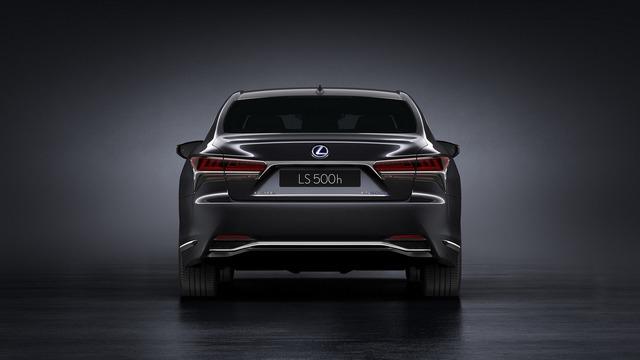 Sedan hạng sang cỡ lớn Lexus LS500h 2018 ra mắt - Ảnh 4.