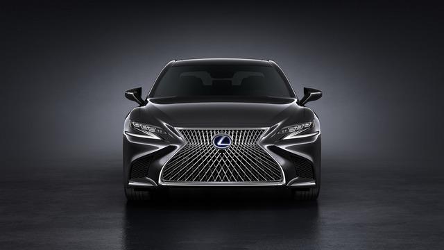 Sedan hạng sang cỡ lớn Lexus LS500h 2018 ra mắt - Ảnh 5.