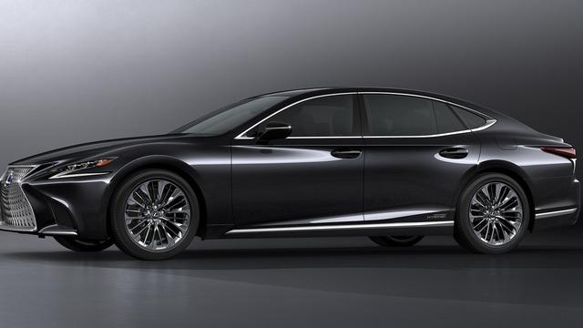 Sedan hạng sang cỡ lớn Lexus LS500h 2018 ra mắt - Ảnh 6.
