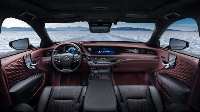 Sedan hạng sang cỡ lớn Lexus LS500h 2018 ra mắt - Ảnh 10.
