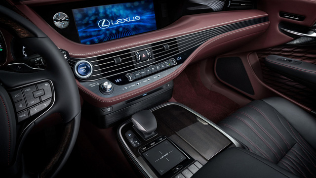 Sedan hạng sang cỡ lớn Lexus LS500h 2018 ra mắt - Ảnh 13.