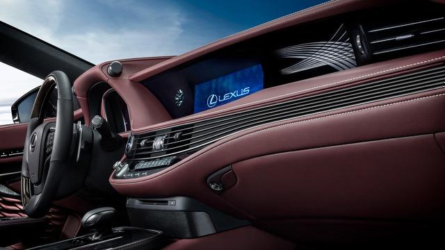 Sedan hạng sang cỡ lớn Lexus LS500h 2018 ra mắt - Ảnh 14.