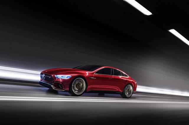 Mercedes-AMG GT Concept - Ô tô thể thao 4 chỗ, mạnh hơn cả siêu xe - Ảnh 1.