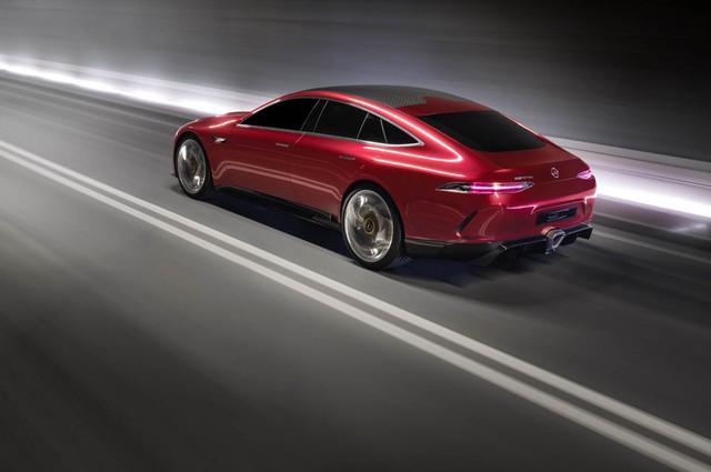 Mercedes-AMG GT Concept - Ô tô thể thao 4 chỗ, mạnh hơn cả siêu xe - Ảnh 2.