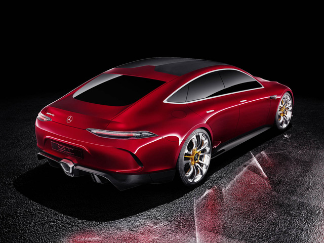 Mercedes-AMG GT Concept - Ô tô thể thao 4 chỗ, mạnh hơn cả siêu xe - Ảnh 3.
