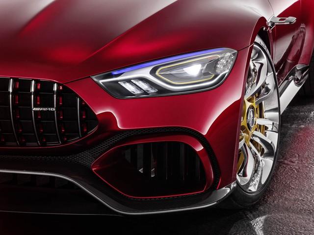 Mercedes-AMG GT Concept - Ô tô thể thao 4 chỗ, mạnh hơn cả siêu xe - Ảnh 4.