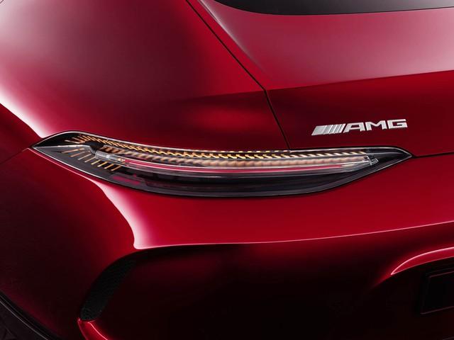 Mercedes-AMG GT Concept - Ô tô thể thao 4 chỗ, mạnh hơn cả siêu xe - Ảnh 5.