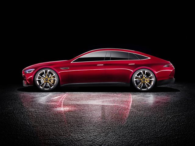 Mercedes-AMG GT Concept - Ô tô thể thao 4 chỗ, mạnh hơn cả siêu xe - Ảnh 6.