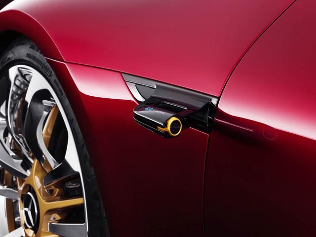 Mercedes-AMG GT Concept - Ô tô thể thao 4 chỗ, mạnh hơn cả siêu xe - Ảnh 8.