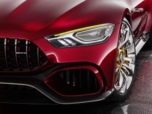 Mercedes-AMG GT Concept - Ô tô thể thao 4 chỗ, mạnh hơn cả siêu xe - Ảnh 9.