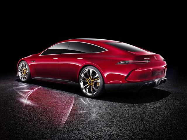 Mercedes-AMG GT Concept - Ô tô thể thao 4 chỗ, mạnh hơn cả siêu xe - Ảnh 10.