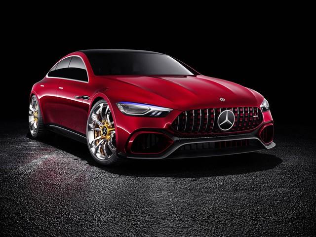 Mercedes-AMG GT Concept - Ô tô thể thao 4 chỗ, mạnh hơn cả siêu xe - Ảnh 11.