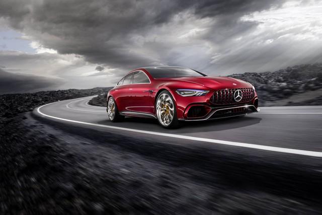 Mercedes-AMG GT Concept - Ô tô thể thao 4 chỗ, mạnh hơn cả siêu xe - Ảnh 12.