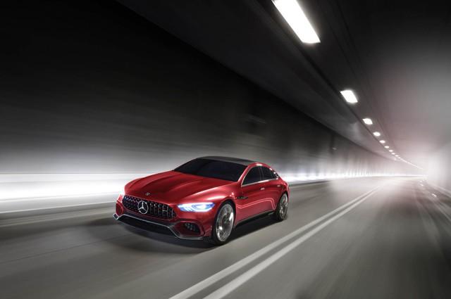 Mercedes-AMG GT Concept - Ô tô thể thao 4 chỗ, mạnh hơn cả siêu xe - Ảnh 13.