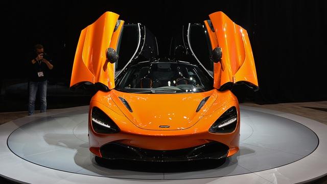 Siêu xe McLaren 720S hiện nguyên hình, giá từ 5,8 tỷ Đồng - Ảnh 8.
