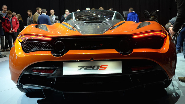 Siêu xe McLaren 720S hiện nguyên hình, giá từ 5,8 tỷ Đồng - Ảnh 10.