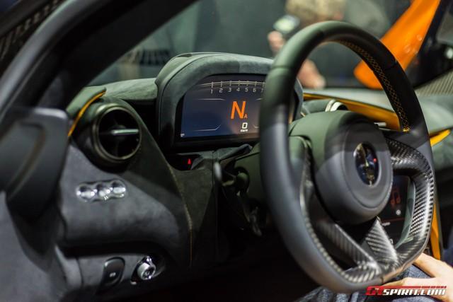Siêu xe McLaren 720S hiện nguyên hình, giá từ 5,8 tỷ Đồng - Ảnh 13.