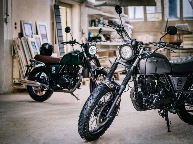 Rộ tin đồn mô tô đậm chất cổ điển Brixton BX 125 sắp được bán tại Việt Nam - Ảnh 2.