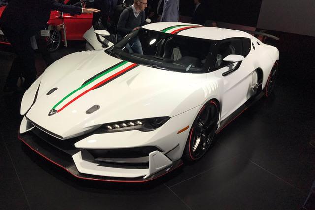 Italdesign Zerouno - Em song sinh không cùng trứng của Lamborghini Huracan LP610-4 - Ảnh 1.