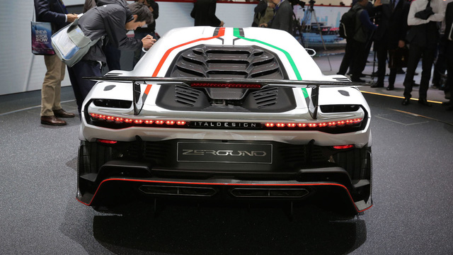 Italdesign Zerouno - Em song sinh không cùng trứng của Lamborghini Huracan LP610-4 - Ảnh 4.