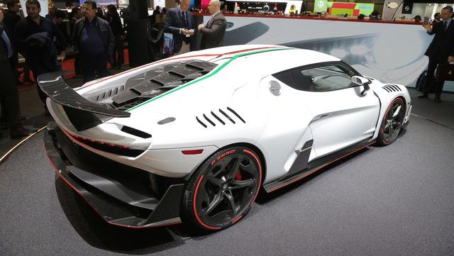 Italdesign Zerouno - Em song sinh không cùng trứng của Lamborghini Huracan LP610-4 - Ảnh 5.