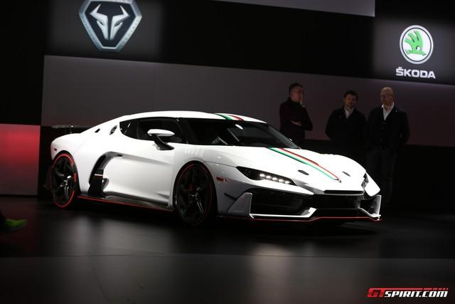 Italdesign Zerouno - Em song sinh không cùng trứng của Lamborghini Huracan LP610-4 - Ảnh 8.