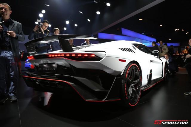 Italdesign Zerouno - Em song sinh không cùng trứng của Lamborghini Huracan LP610-4 - Ảnh 10.
