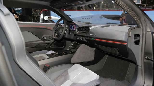 Italdesign Zerouno - Em song sinh không cùng trứng của Lamborghini Huracan LP610-4 - Ảnh 14.