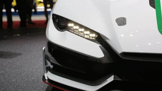 Italdesign Zerouno - Em song sinh không cùng trứng của Lamborghini Huracan LP610-4 - Ảnh 15.