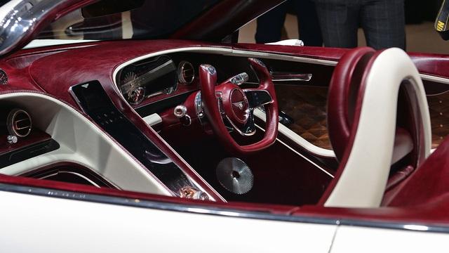 Bentley EXP 12 Speed 6e - Xe mui trần sang trọng và độc đáo - Ảnh 10.
