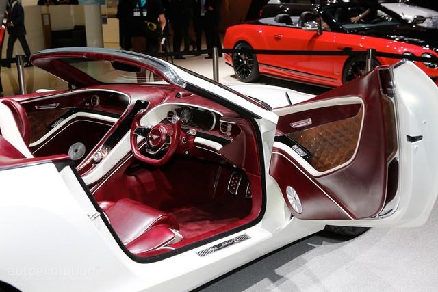 Bentley EXP 12 Speed 6e - Xe mui trần sang trọng và độc đáo - Ảnh 12.