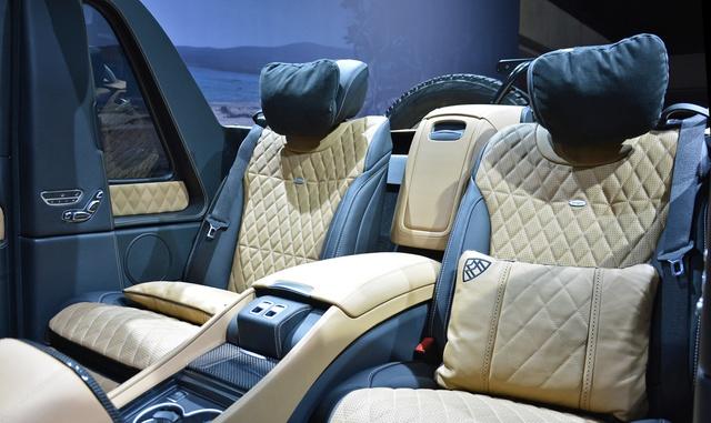 Soi kỹ SUV nhà giàu Mercedes-Maybach G650 Landaulet ngoài đời thực - Ảnh 14.