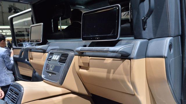 Soi kỹ SUV nhà giàu Mercedes-Maybach G650 Landaulet ngoài đời thực - Ảnh 15.