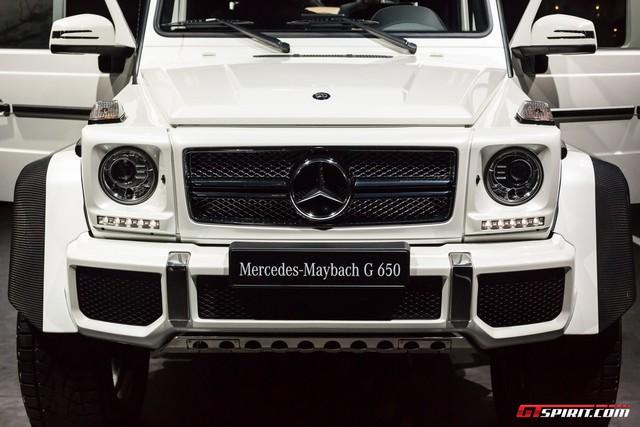 Soi kỹ SUV nhà giàu Mercedes-Maybach G650 Landaulet ngoài đời thực - Ảnh 16.