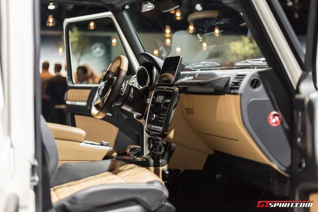 Soi kỹ SUV nhà giàu Mercedes-Maybach G650 Landaulet ngoài đời thực - Ảnh 17.