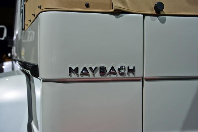 Soi kỹ SUV nhà giàu Mercedes-Maybach G650 Landaulet ngoài đời thực - Ảnh 18.