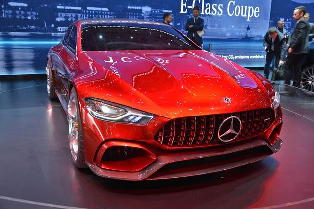 Mục sở thị vẻ đẹp của coupe 4 cửa hạng sang Mercedes-AMG GT Concept - Ảnh 1.