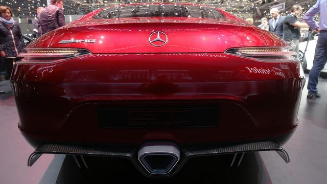 Mục sở thị vẻ đẹp của coupe 4 cửa hạng sang Mercedes-AMG GT Concept - Ảnh 3.