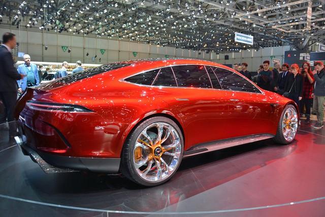 Mục sở thị vẻ đẹp của coupe 4 cửa hạng sang Mercedes-AMG GT Concept - Ảnh 8.