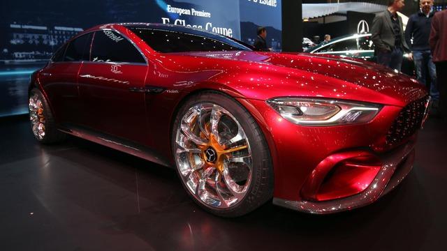 Mục sở thị vẻ đẹp của coupe 4 cửa hạng sang Mercedes-AMG GT Concept - Ảnh 10.