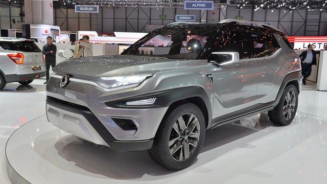Làm quen với Ssangyong XAVL - xe crossover 7 chỗ lai minivan - Ảnh 1.