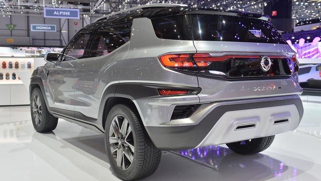 Làm quen với Ssangyong XAVL - xe crossover 7 chỗ lai minivan - Ảnh 14.