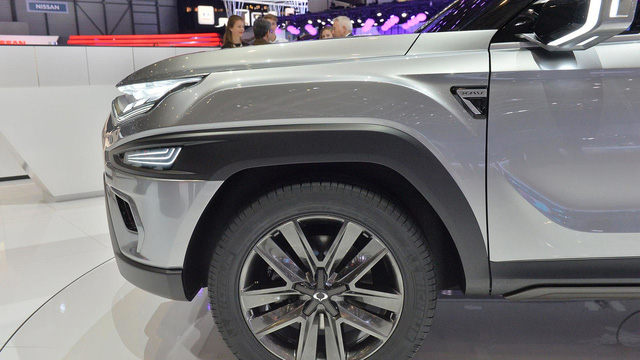 Làm quen với Ssangyong XAVL - xe crossover 7 chỗ lai minivan - Ảnh 15.