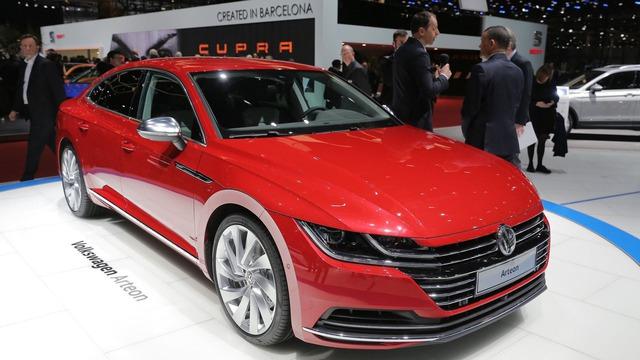 Arteon - Xe đầu bảng hoàn toàn mới của Volkswagen - Ảnh 1.